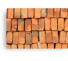 Adobe Bricks Canvas Print