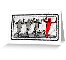 TrooperDancing Greeting Card