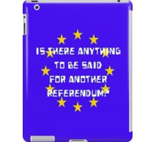 Referendumb iPad Case/Skin