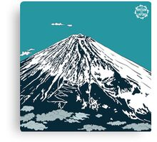 Mt Fuji from the Sky Canvas Print