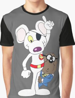 Dangermouse And Penfold Graphic T-Shirt