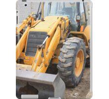 Construction Equipment iPad Case/Skin