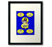 """Weird Al"" Yankovic - Foil Framed Print"