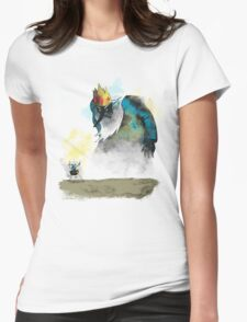 Adventure of Colossus Womens Fitted T-Shirt