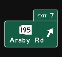 Araby Road Sign, Arizona Kids Tee