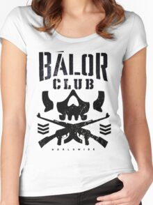 Balor Bullets Black Women's Fitted Scoop T-Shirt