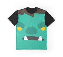 Cartoon Orc Face (Game) Graphic T-Shirt