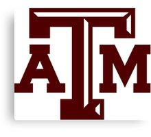 texas a and m Canvas Print