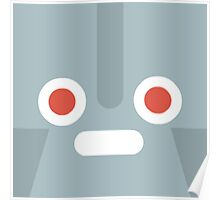 Cartoon Robot Face (Game) Poster