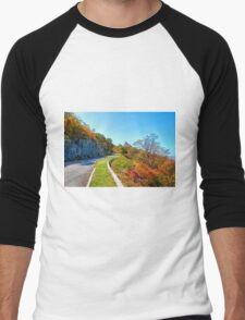 Blue Ridge Drive Men's Baseball ¾ T-Shirt