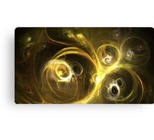 Sun Craters Canvas Print