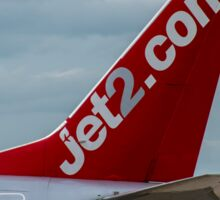 Jet2 Airlines Boeing 737 tail livery Sticker