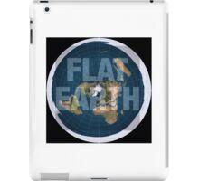 Flat earth,boom,reality check, iPad Case/Skin