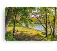 James River Canvas Print