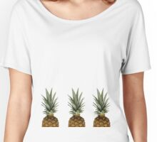 Pineapples  Women's Relaxed Fit T-Shirt