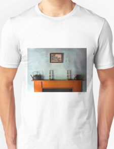 Antique Mantelpiece Still Life Unisex T-Shirt