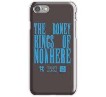 The Boney Kings of Nowhere -Blue iPhone Case/Skin