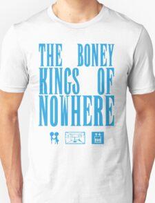 The Boney Kings of Nowhere -Blue Unisex T-Shirt