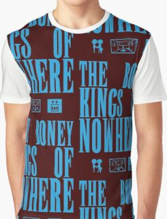 The Boney Kings of Nowhere -Blue Graphic T-Shirt