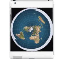 The truth, flat earth ,  iPad Case/Skin