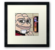 picard pepe Framed Print