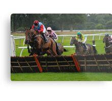 National Hunt Horse Racing Metal Print