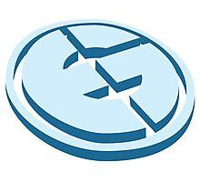 EG - Evil Geniuses Vector Logo  Photographic Print