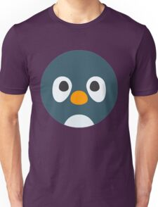 Cute Cartoon Penguin Face Unisex T-Shirt