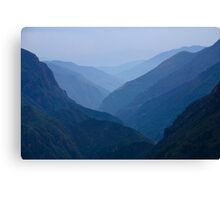 Khumbu Valley Everest Region Nepal Canvas Print