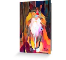 Calico Queen Greeting Card