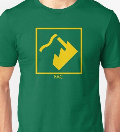 Record Label 4 (yellow) Unisex T-Shirt