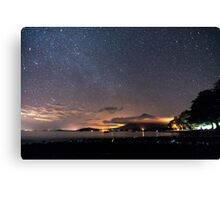 Stars on the volcano Canvas Print