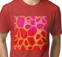 Cells Abstract Three  Tri-blend T-Shirt