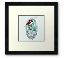 Ariel - Ballerina Framed Print