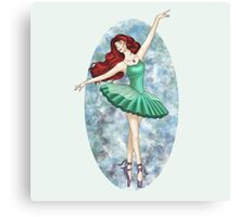 Ariel - Ballerina Canvas Print