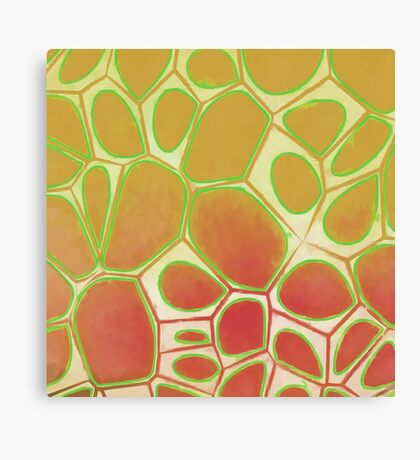 Cells Abstract Five Canvas Print