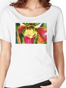 Bold Flower Art - Intimate Orchid 6 - Sharon Cummings Women's Relaxed Fit T-Shirt