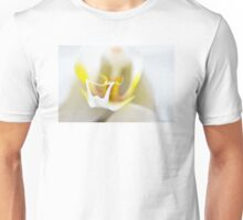 White Orchid Art by Sharon Cummings Unisex T-Shirt