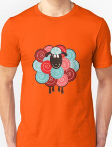 Curly the Sheep Unisex T-Shirt