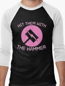 Hit Them With the Hammer Men's Baseball ¾ T-Shirt