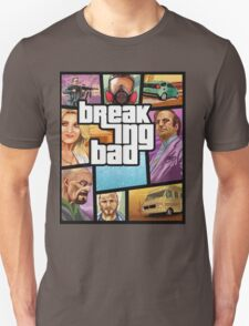 GTA 5 Style, Breaking Bad art! T-Shirt