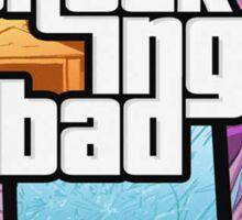 GTA 5 Style, Breaking Bad art! Sticker