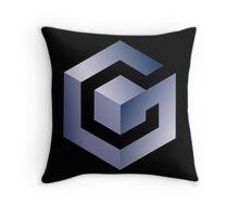GameCube Logo (Without Text) Throw Pillow