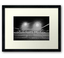 Stoke City v Liverpool Soccer Match England Framed Print
