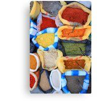 Spice Market Canvas Print