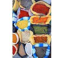 Spice Market Photographic Print