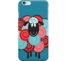 Curly the Sheep iPhone Case/Skin