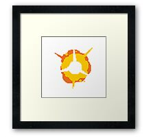 8-Bit Explosion! (Game) Framed Print