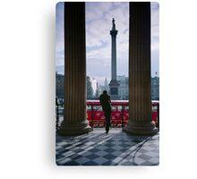 Trafalgar Square London England UK Canvas Print