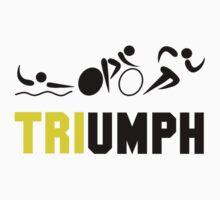 Tri Triumph Kids Tee